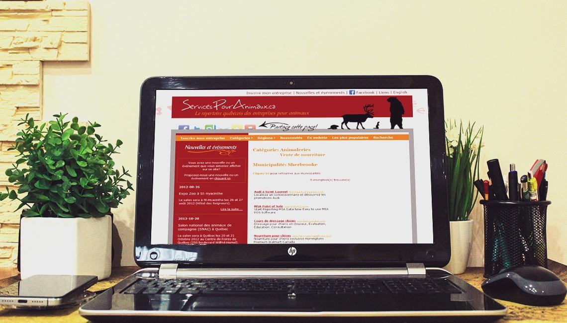 programmation annuaire web