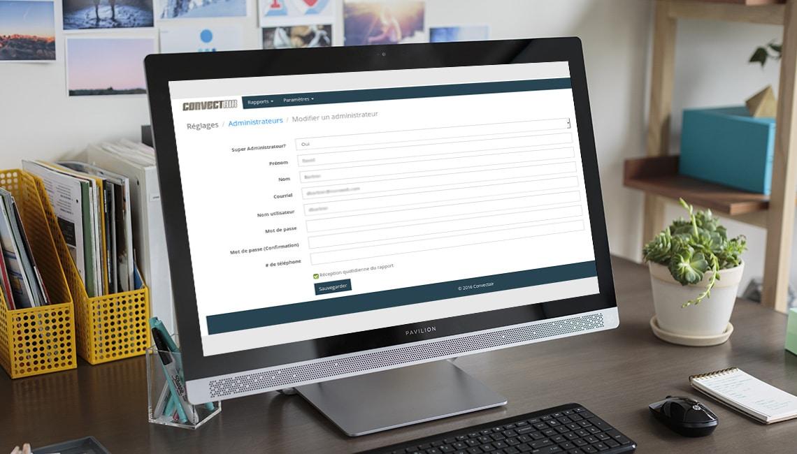 application web rapport