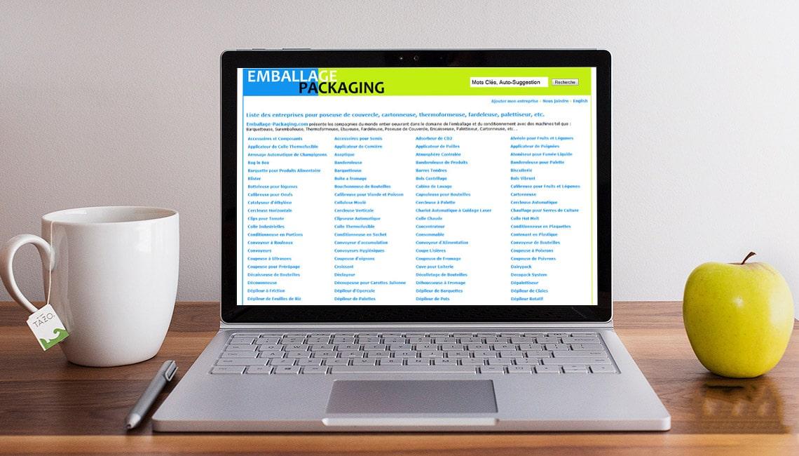 conception annuaire web