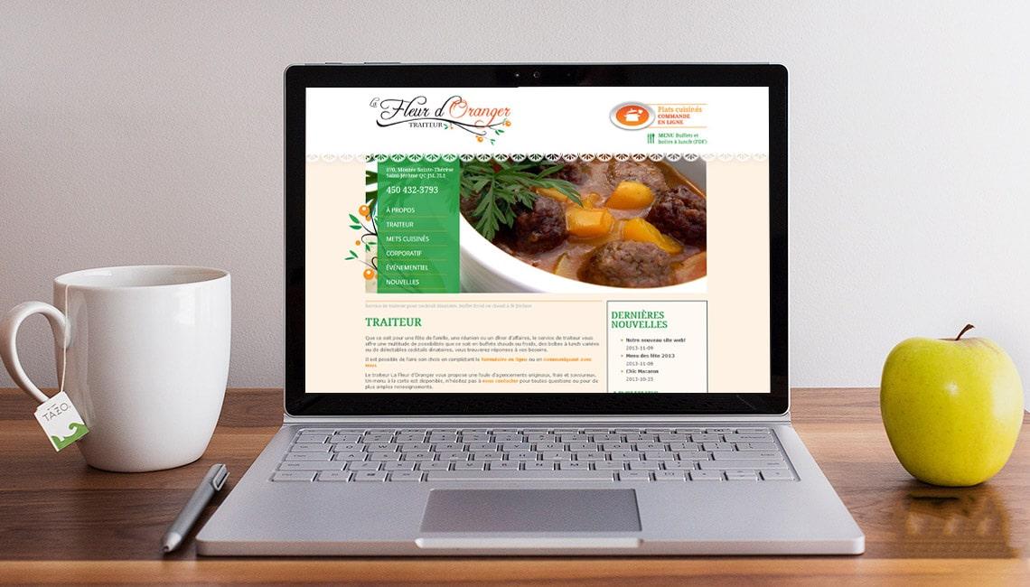 site web traiteur