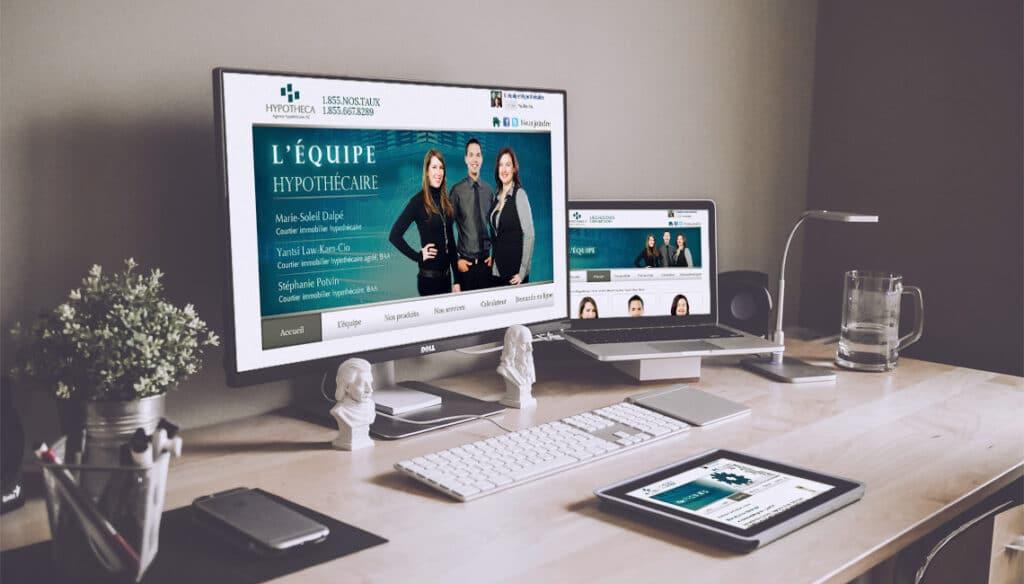 site web hypothécaire