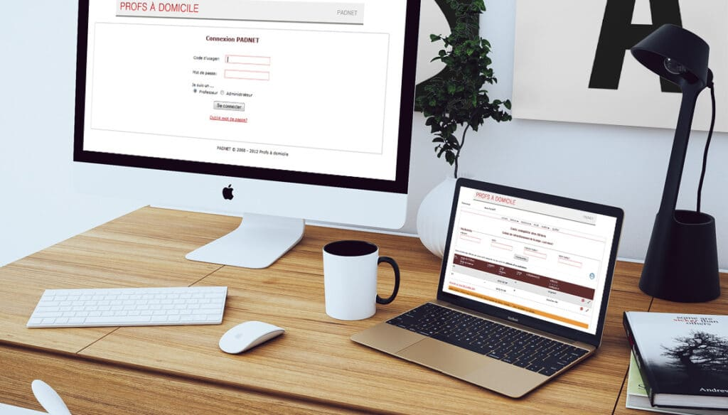 programmation application web