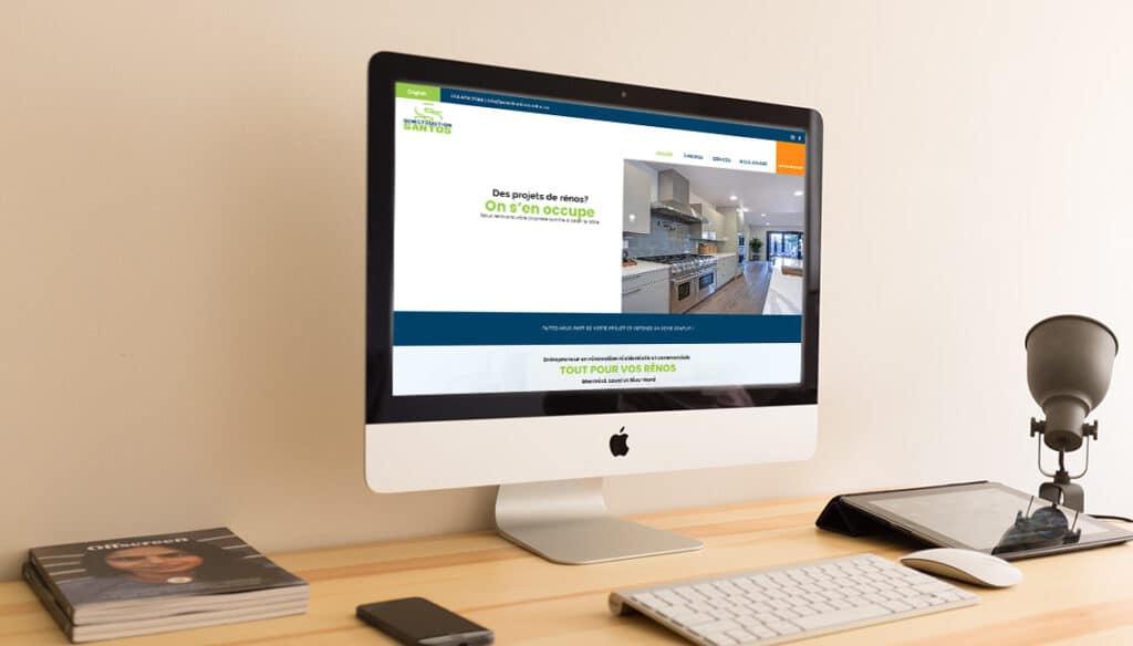 site web construction