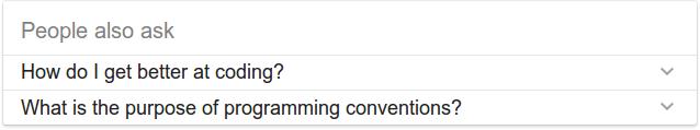 Comment puis-je devenir un meilleur programmeur?  Quel est le but des conventions de programmation?