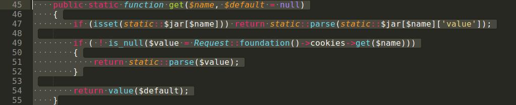 Par exemple, en appuyant sur la touche de tabulation «Tab», c'est 4 ou 5 espaces qui seront automatiquement insérés afin d'espacer le code.