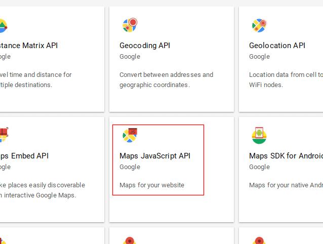 L'API JavaScript de Google Maps