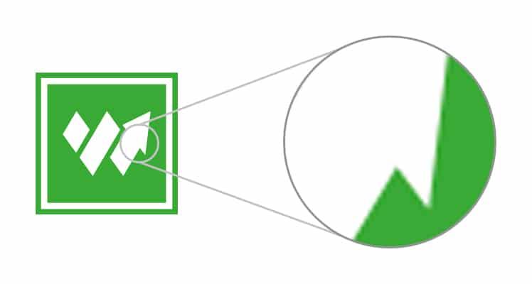 Exemple d'images Web matricielles