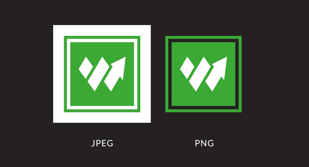 Comparaison d'images Web en JPEG et PNG
