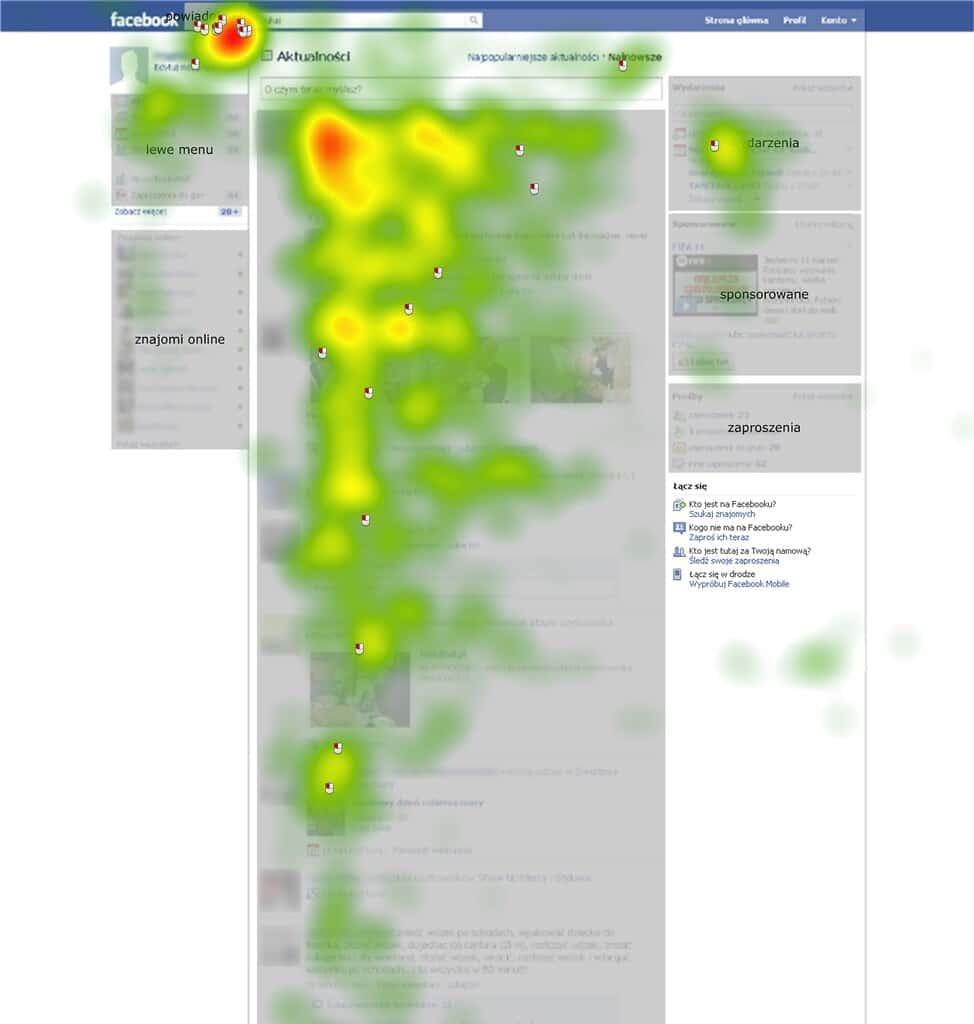 Carte de densité de la lecture Internet