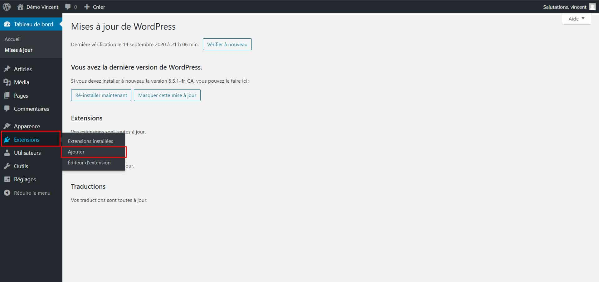 Configuration de l'extension WP Mail SMTP par WPForms sur WordPress.