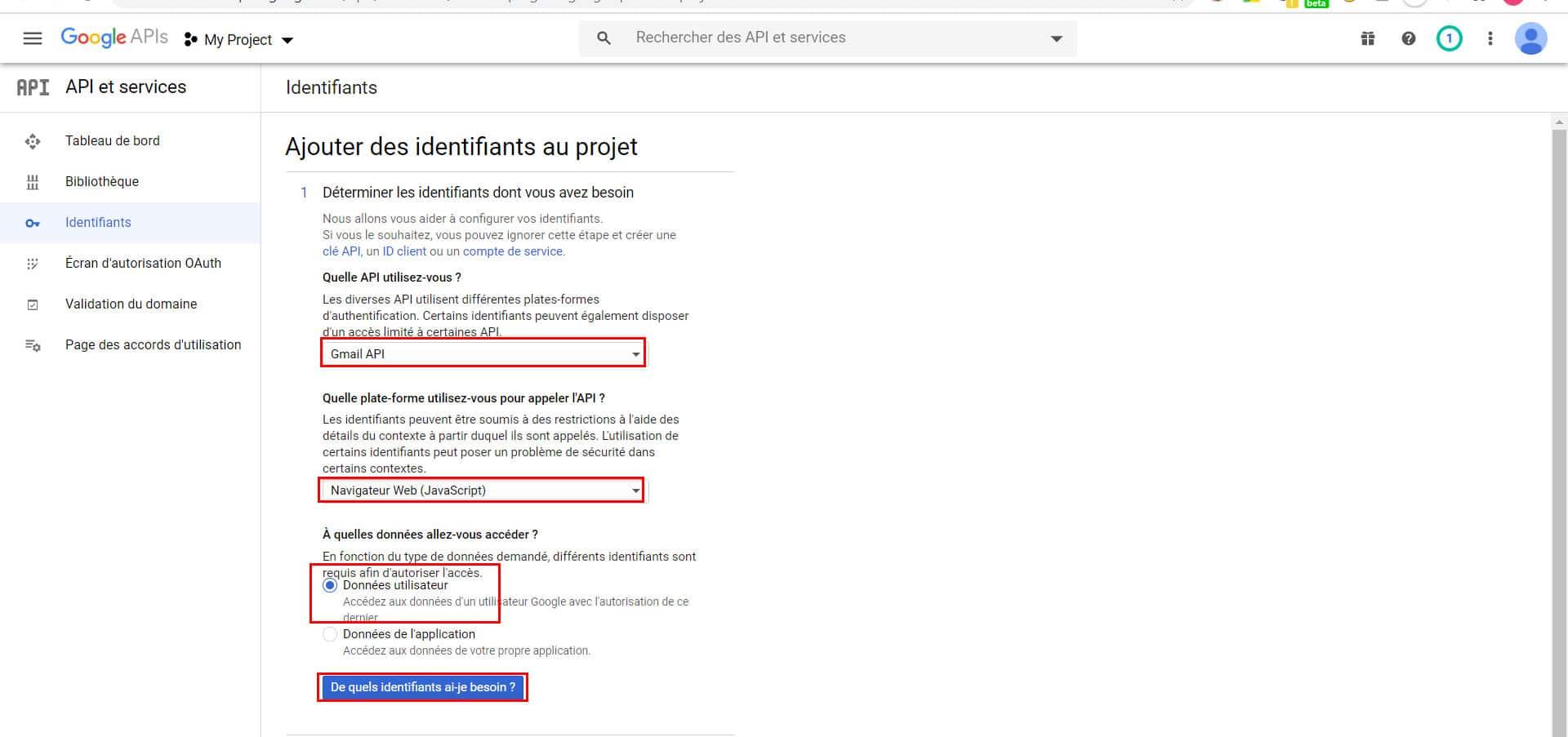 Configuration du SMTP de GMail sur WordPress.