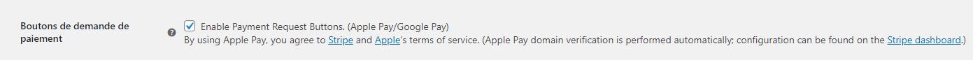 Activation de Google Pay avec Stripe sur un site WooCommerce en WordPress