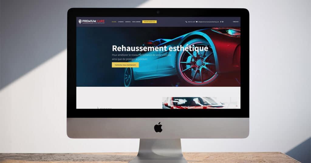 Création d'un site Web vitrine